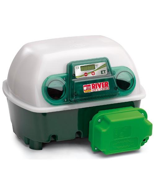 Incubadora de Huevos con Volteo Automático RIVER 12/48