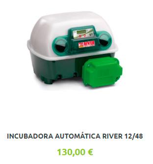 Incubadora Automática River 12/48