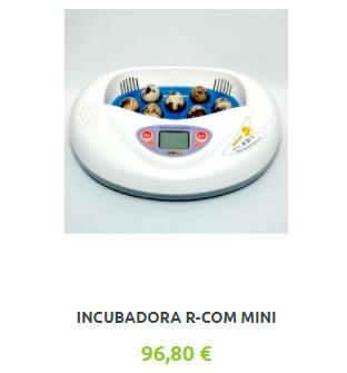 Incubadora Automática RCOM Mini