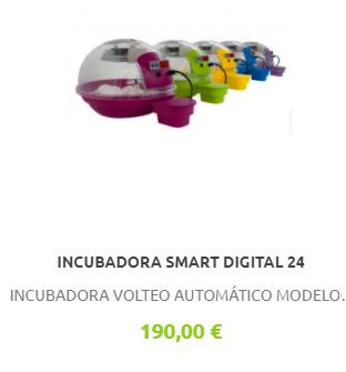 Incubadora Smart Digital 24 huevos